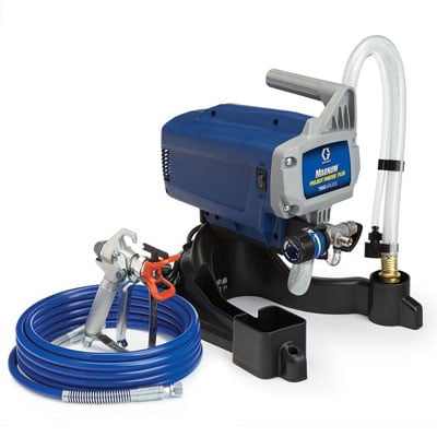 Graco-257025 Airless paint sprayer on a white background