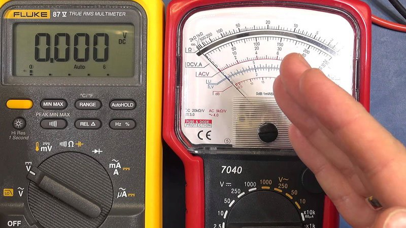 multimeter troubleshooting
