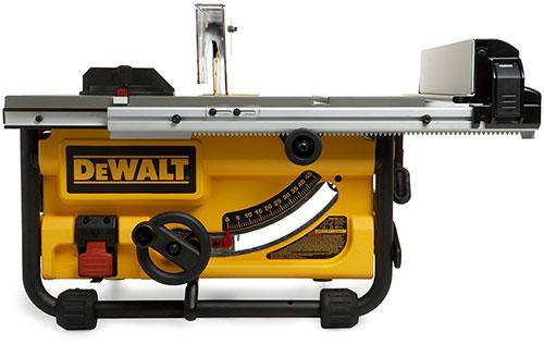 DEWALT DW745 10-Inch Compact Job Site