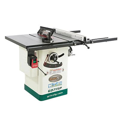 Grizzly G0715p Hybrid Table Saw Review Tool Nerds