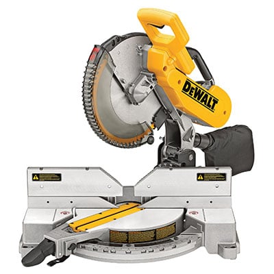 DEWALT DW716 Double-Bevel Compound Miter Saw
