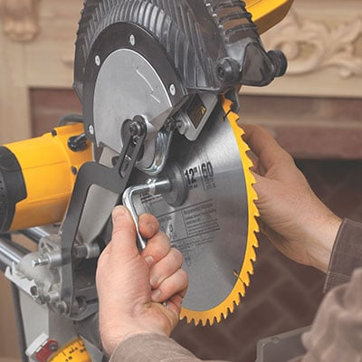 Detail of DEWALT DWS780