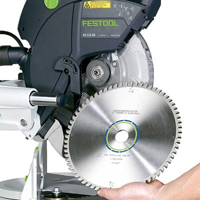 Detail of Festool Kapex KS120