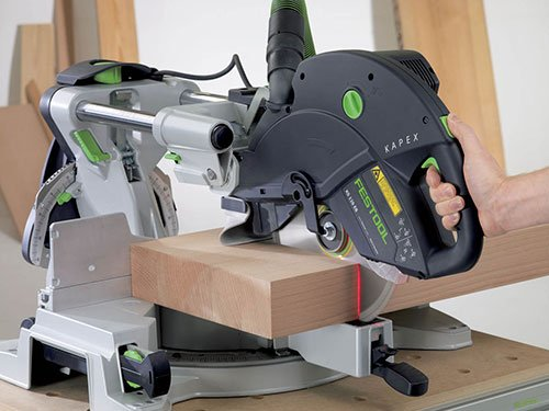 Working on Festool Kapex KS120