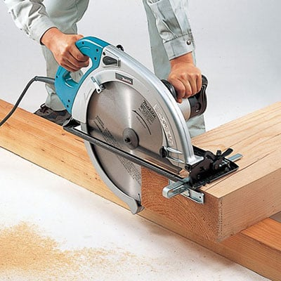 makita 5402na cutting wood