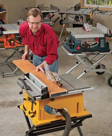 Table saw vs miter saw which one to choose for your next for 12 inch portable table saw