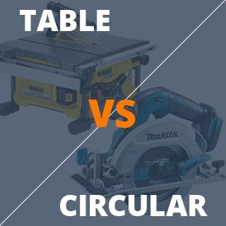 Table vs circular