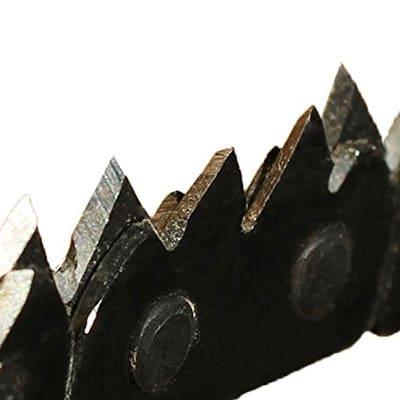 Croc survival chainsaw sharp teeth