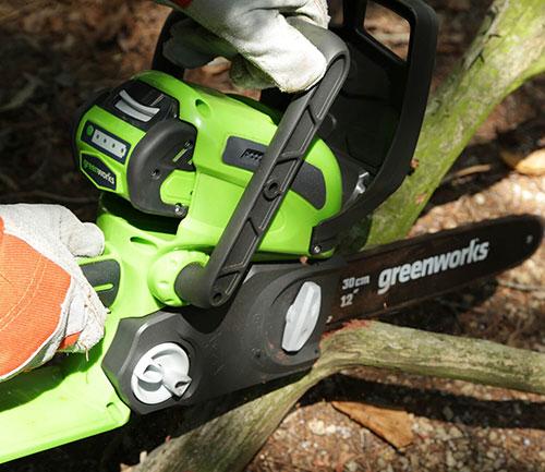Greenworks 20262 branch cut