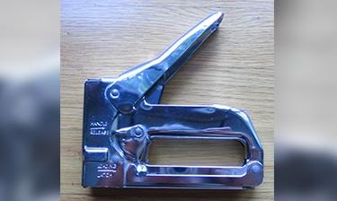 A staple gun