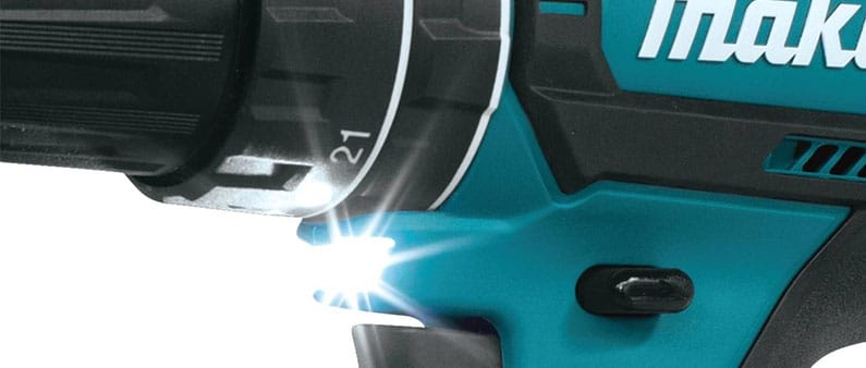 Makita Drill with Led Light