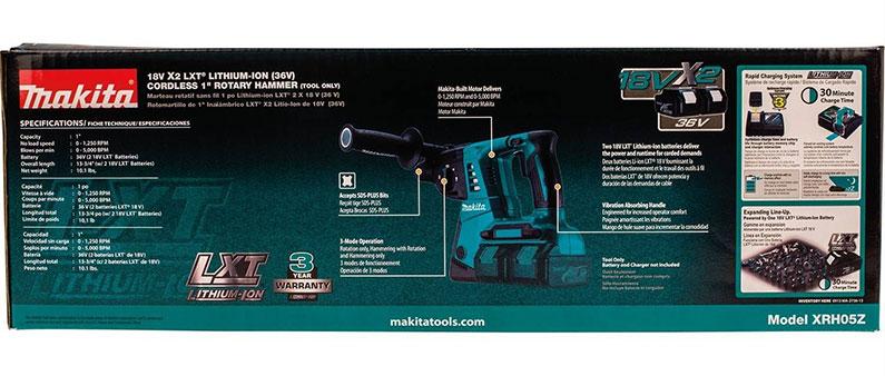 Makita Rotary Hammer Drill Box