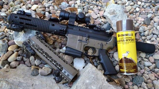 spray-on gun finish product image