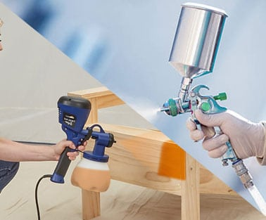 HVLP vs. LVLP Spray gun – What is The Difference?
