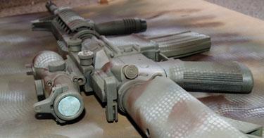paint an airsoft gun