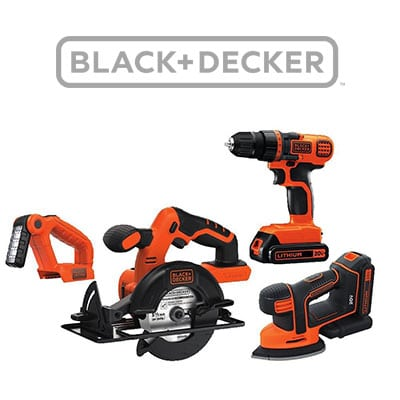 Black and Decker Combo Tool Kit