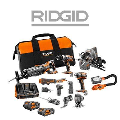 Combo Kits By Ridgid