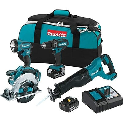 Makita XT442 Tool Set Product Image