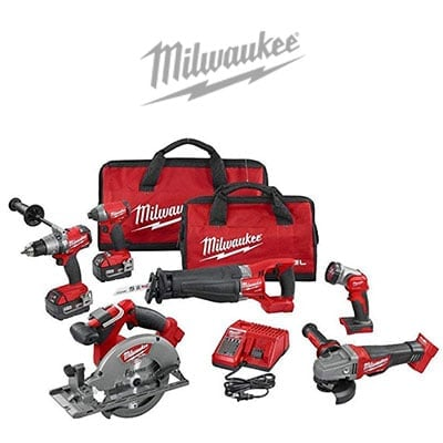 Milwaukee Power Tool Combo Kits