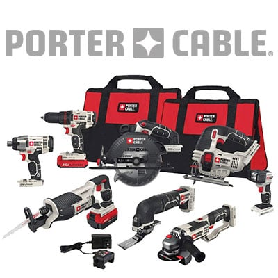 Porter-Cable Combo Kits