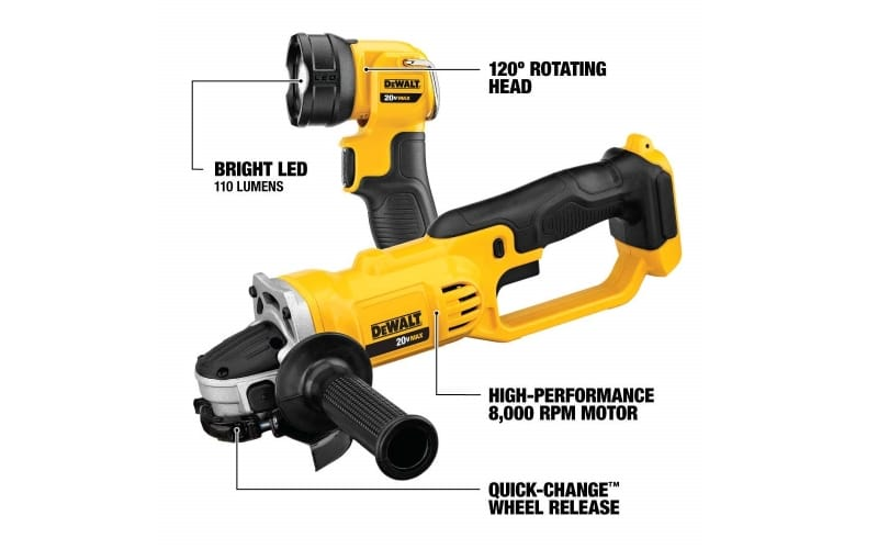 DeWalt Recipro Saw and a Flashlight