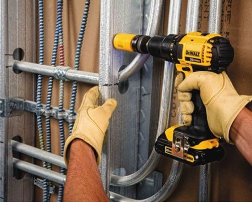 Drilling Hole With DeWalt DCD780