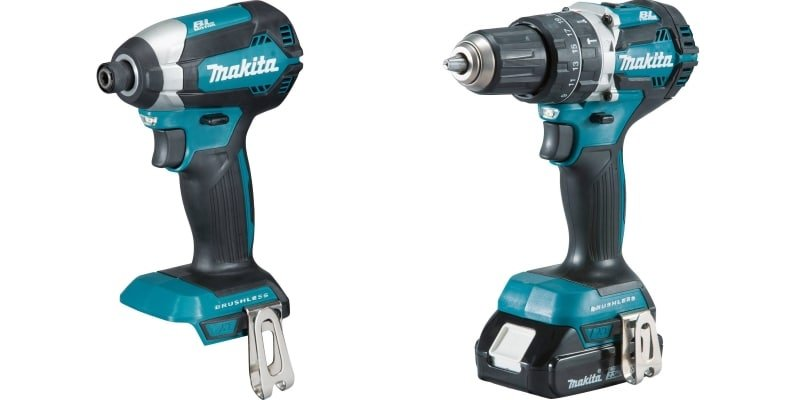 Hammer Drill and Impact Driver by Makita