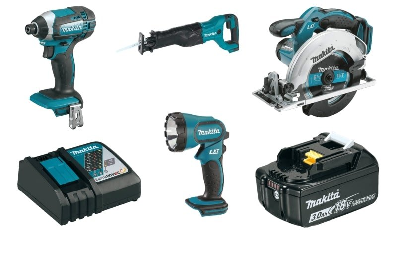 Makita XT505 Tools
