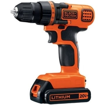 Black and Decker LDX120 Driver Drill Product Image
