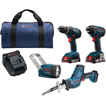 Bosch CLPK495A-181 4-tool Combo Kit Product Image