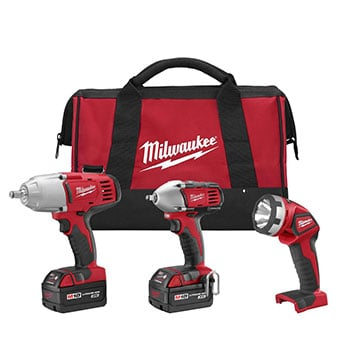Milwaukee 2696-23 M18 Combo Kit Product Image