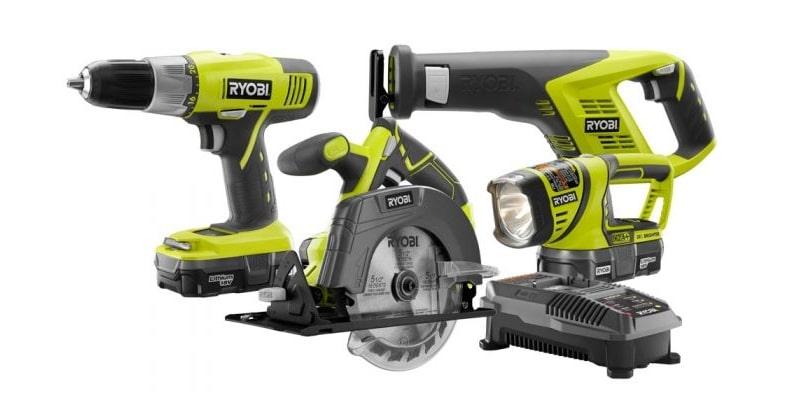 Ryobi ZRP883 Tools
