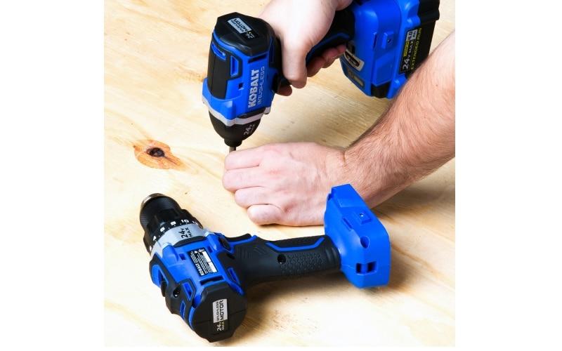 Kobalt 24V MAX Brushless 2 Tool Combo Kit - Full Review