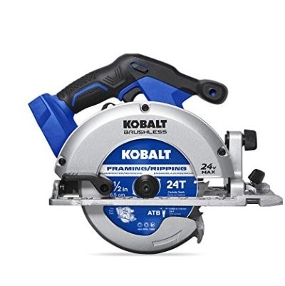 Kobalt 24-Volt Max 6-12-in Cordless Circular Saw Brake Product Image