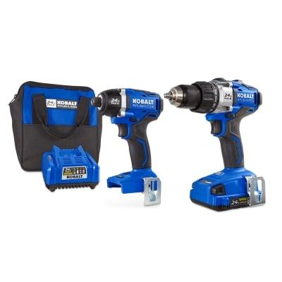 Kobalt 24V MAX Brushless 2 Tool Combo Kit Product Image
