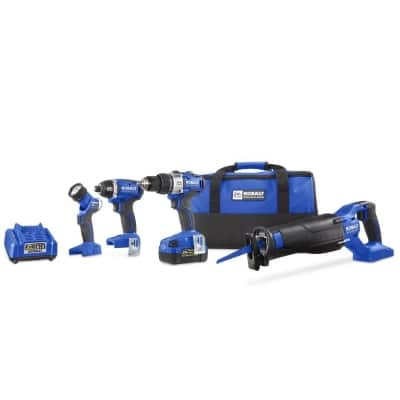 Kobalt 4-Tool 24-Volt Max Lithium Ion Brushless Cordless Combo Kit Product Image