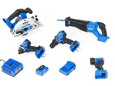 Kobalt 6-Tool Combo Kit