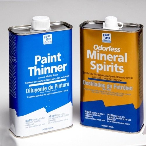 Paint thinner and Mineral spirits