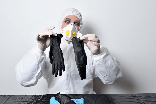 PPE to use when paint spraying